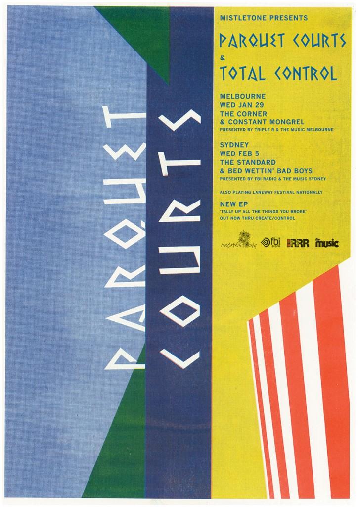 Parquet Courts poster