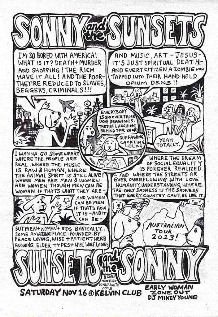 sonny sunsets extra show