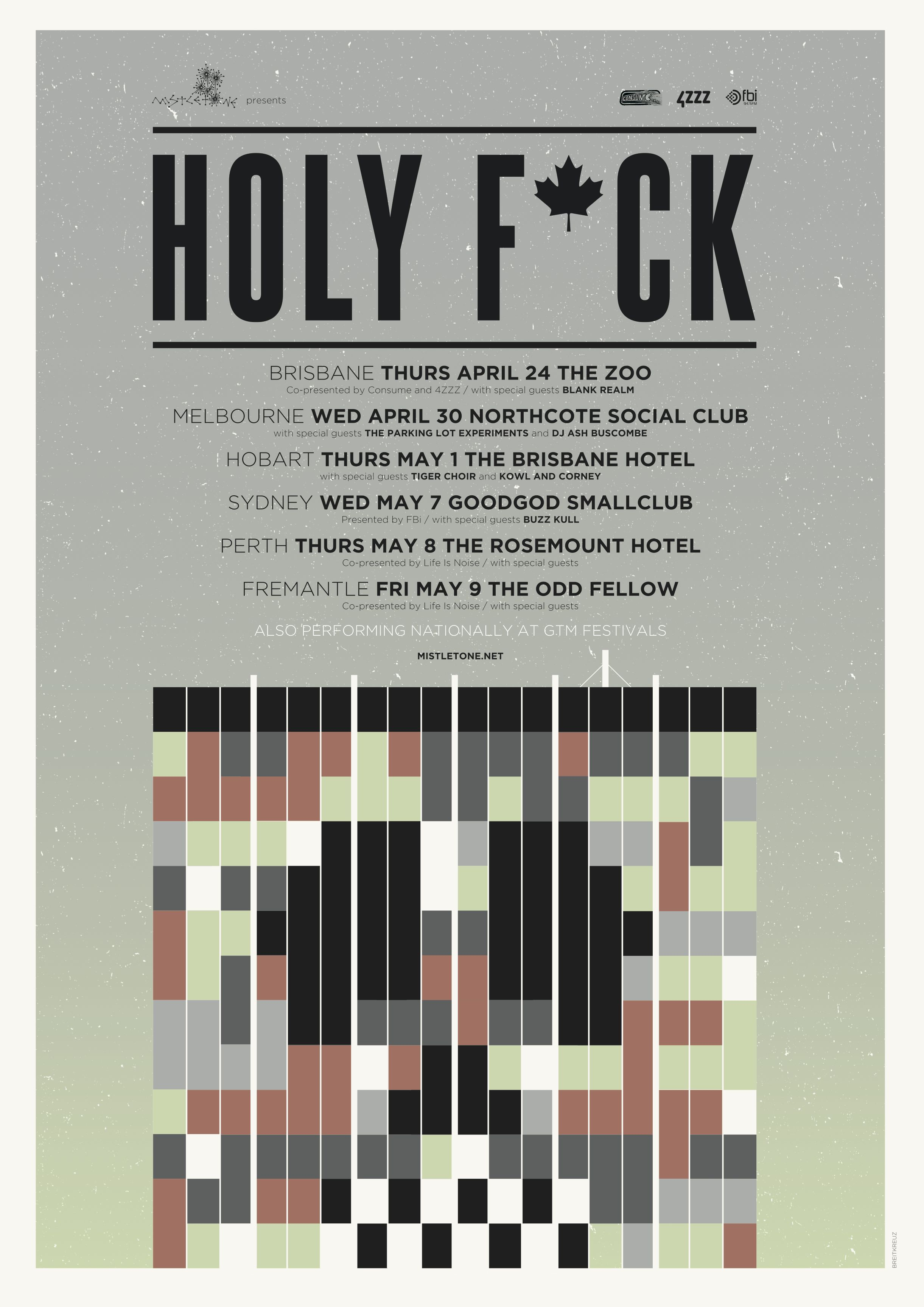 Holy Fuck poster