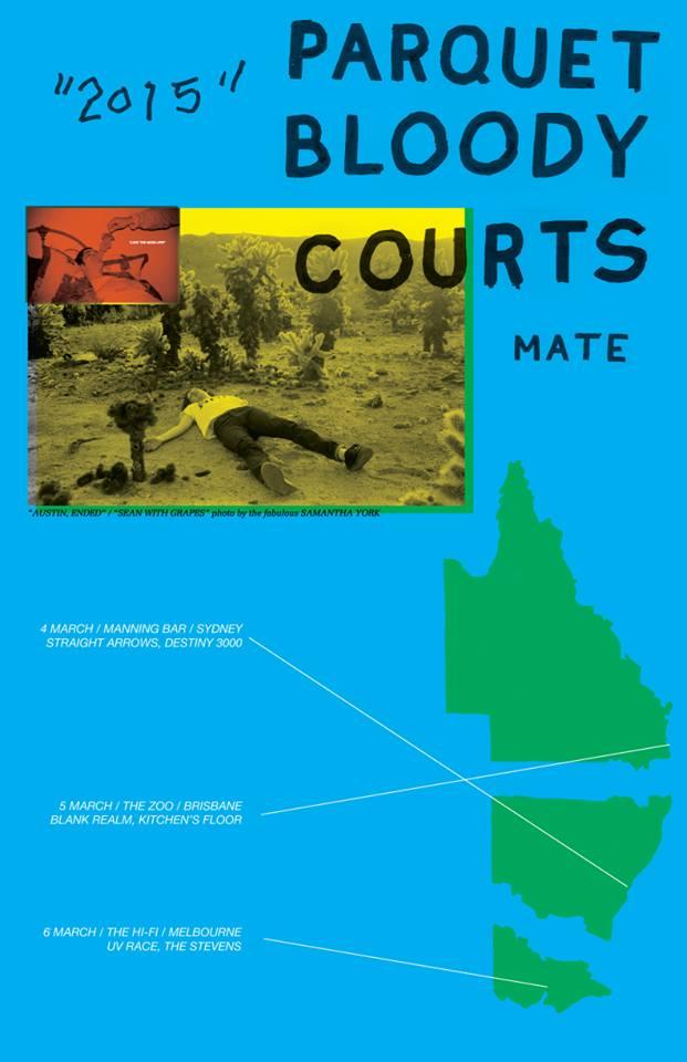 parquet courts mate