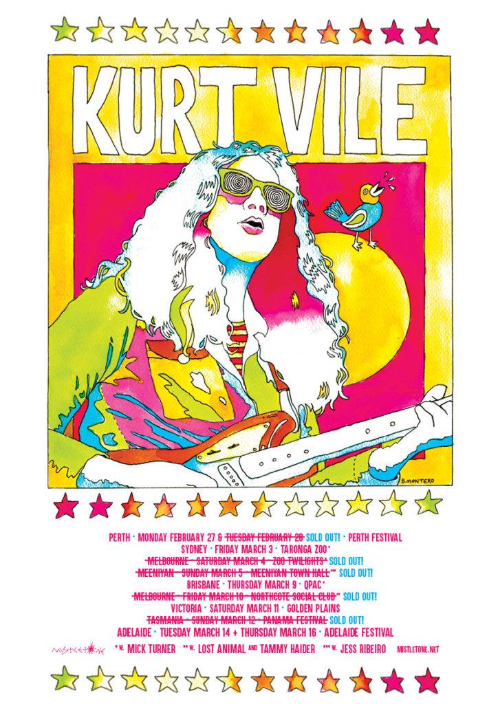 Kurt Vile sold out
