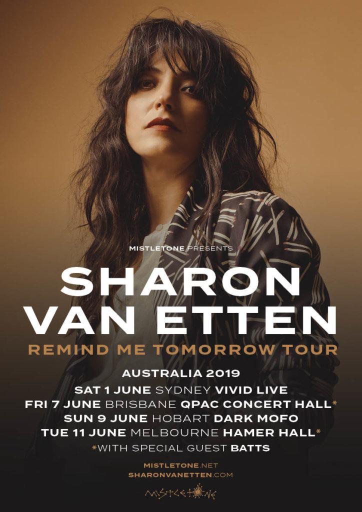 62454cbf1367 SHARON VAN ETTEN REMIND ME TOMORROW AUSTRALIAN TOUR